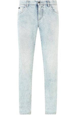Dolce & Gabbana Acid wash bleached jeans