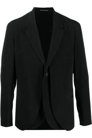 Yohji Yamamoto Layered single-breasted blazer