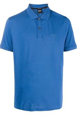 BOSS Embroidered-logo cotton polo shirt