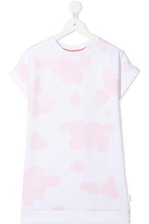 BOSS Kidswear Splatter print T-shirt dress