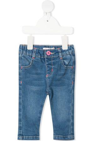 Billieblush Heart patch skinny jeans