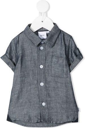 BOSS Kidswear Classic collar shirt