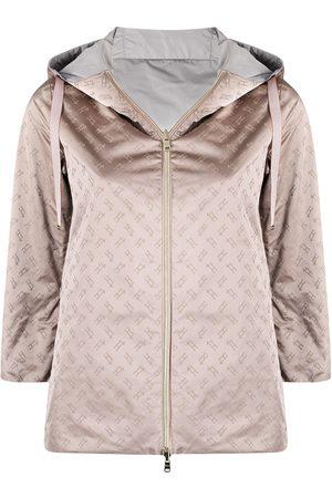 Herno Monogram pattern reversible jacket