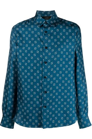 AMIRI Paisley-print silk shirt