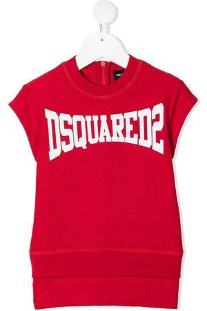 Dsquared2 Kids Logo-print T-shirt dress