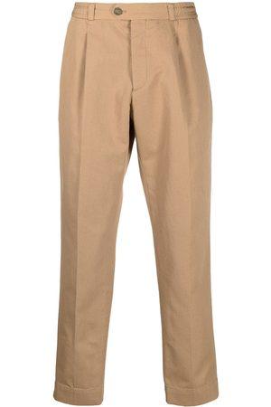 Pt01 Elasticated waist chinos - Neutrals