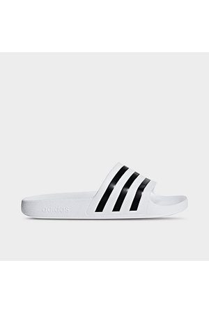 adidas Men's Adilette Aqua Slide Sandals in / Size 5.0