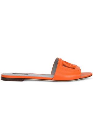Dolce & Gabbana Logo-embossed mule sandals