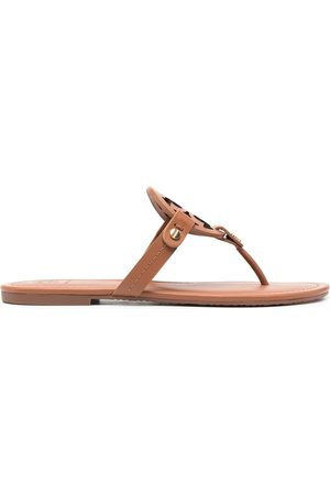 Tory Burch Miller logo sandals - Neutrals