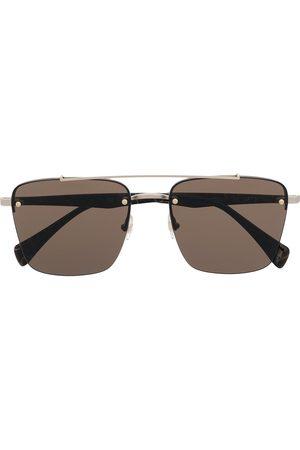 Yohji Yamamoto Square-frame sunglasses