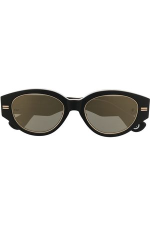 A Bathing Ape Camouflage-print round-frame sunglasses