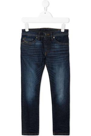 Diesel Kids Thommer-J whiskering effect jeans
