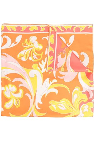Emilio Pucci Lilly pattern scarf
