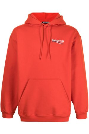 Balenciaga Logo-print drawstring hoodie