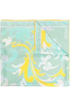 Emilio Pucci Baroque-style silk scarf