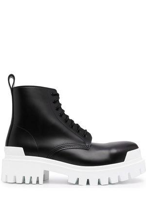 BALENCIAGA Strike 20mm lace-up boots