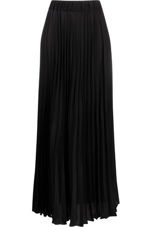 P.A.R.O.S.H. High-rise pleated maxi skirt