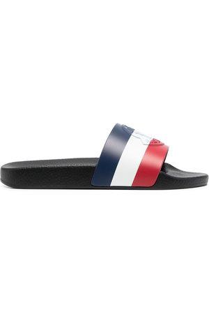 Moncler Basile tricolour slides