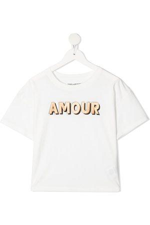 Zadig & Voltaire Kids Slogan-print short-sleeved T-shirt
