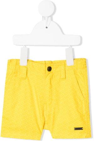 BOSS Kidswear All-over logo print shorts
