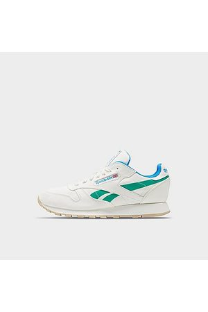 Reebok Men's Classic Leather Glow Casual Shoes in /Chalk