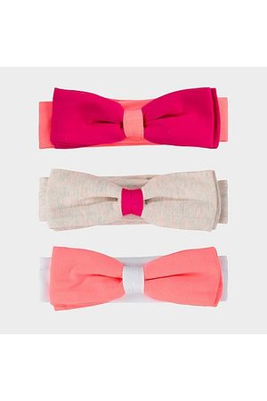 Nike Girls' Infant 3-Pack Headbands Size 0-6 Month Cotton