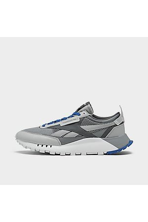 Reebok Men's Classic Leather Legacy Casual Shoes in Grey/Cold Grey 4