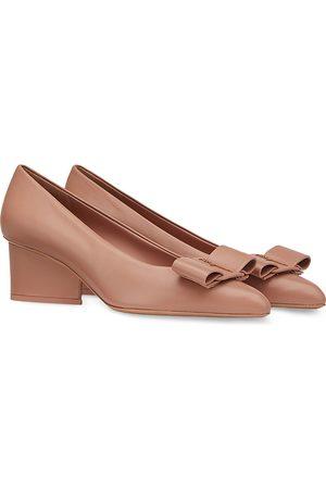 Salvatore Ferragamo Women's Embellished Pointed Toe High Heel Pumps