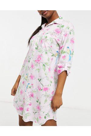 LAUREN by RALPH LAUREN Woven sleepshirt in floral