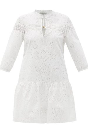 Heidi Klein Solta Broderie-anglaise Cotton Mini Dress - Womens
