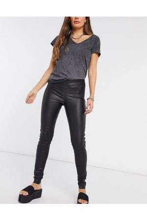 Y.A.S Leather leggings in