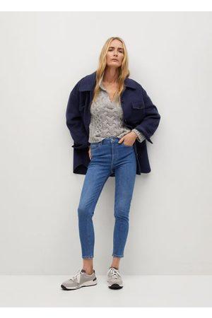MANGO Noa high-waist skinny jeans