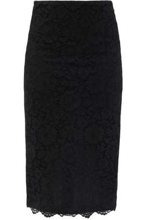 VALENTINO Women Pencil Skirts - High-rise Cordonnet-lace Pencil Skirt - Womens