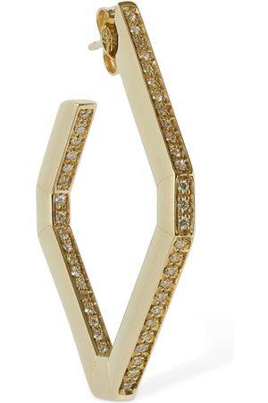 Eera Allegra 18kt & Diamond Mono Earring