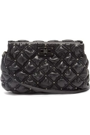 VALENTINO GARAVANI Women Clutches - Spikeme Medium Quilted-leather Cross-body Bag - Womens