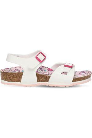 Birkenstock Girls Sandals - Faux Patent Leather Sandals