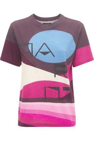 Isabel Marant Zewel Logo Cotton Jersey T-shirt