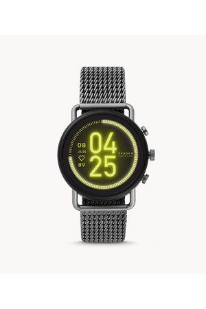 Brands Men Smart Watches - Skagen Men's Smartwatch Hr - Falster 3 Gauge Mesh