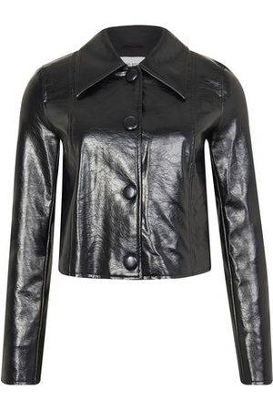 Stand Melanie faux leather jacket