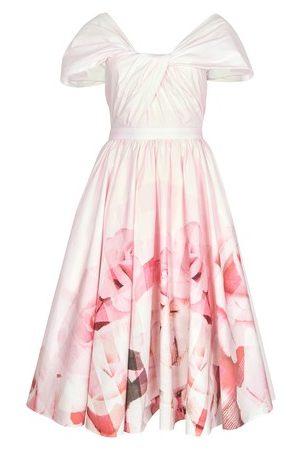 Alexander McQueen Rose Check dress