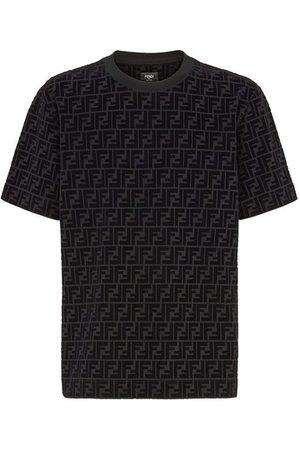 Fendi T-Shirt In Piqué