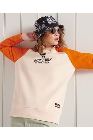 Superdry Women Sweatshirts - Cali Surf Crew Sweatshirt