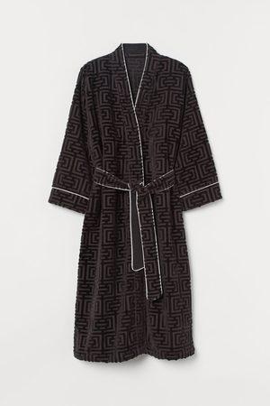 H&M Jacquard-weave Bathrobe