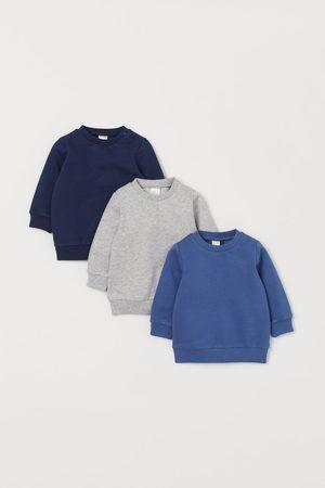 H&M 3-pack Cotton Sweatshirts