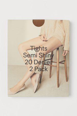 H&M 2-pack 20 Denier Tights