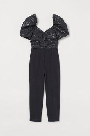H&M Jacquard-weave Jumpsuit