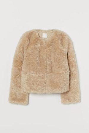 H & M Faux Fur Jacket