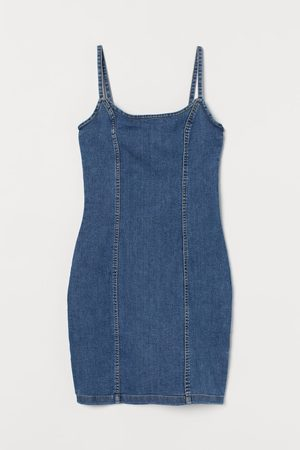 H&M Fitted Cotton Dress