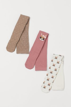 H&M 3-pack Tights