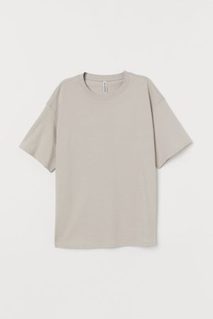 H&M Wide-cut Cotton T-shirt